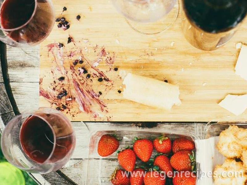 The combination of wine and food