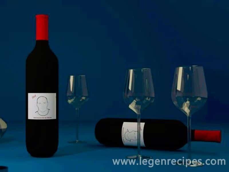 The impact strength of wine to taste it