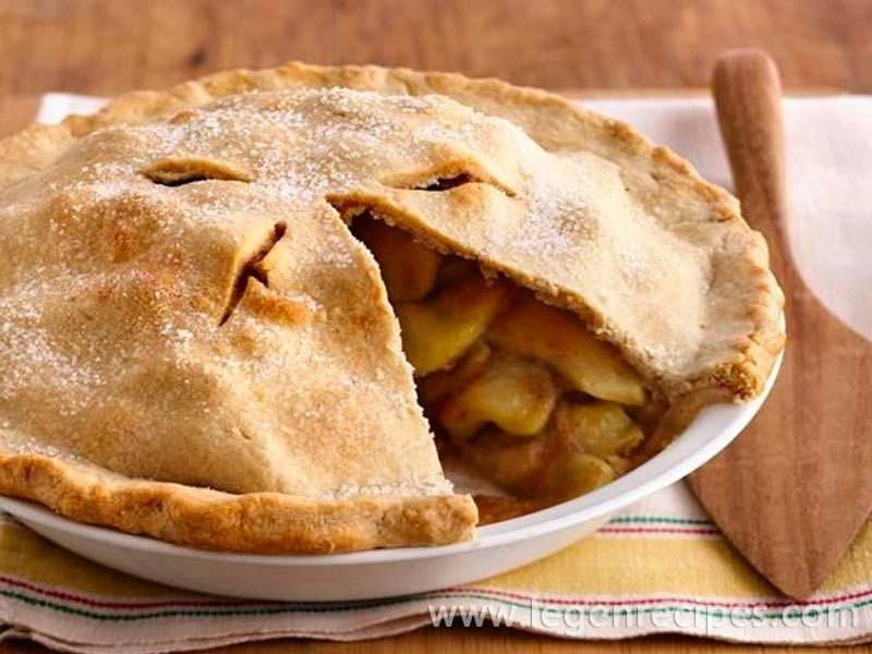 scrumptious apple pie this apple pie is a classic from the scrumptious ...