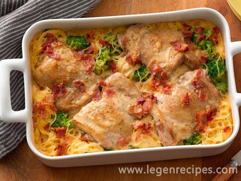Smothered Chicken Casserole Legendary Recipes