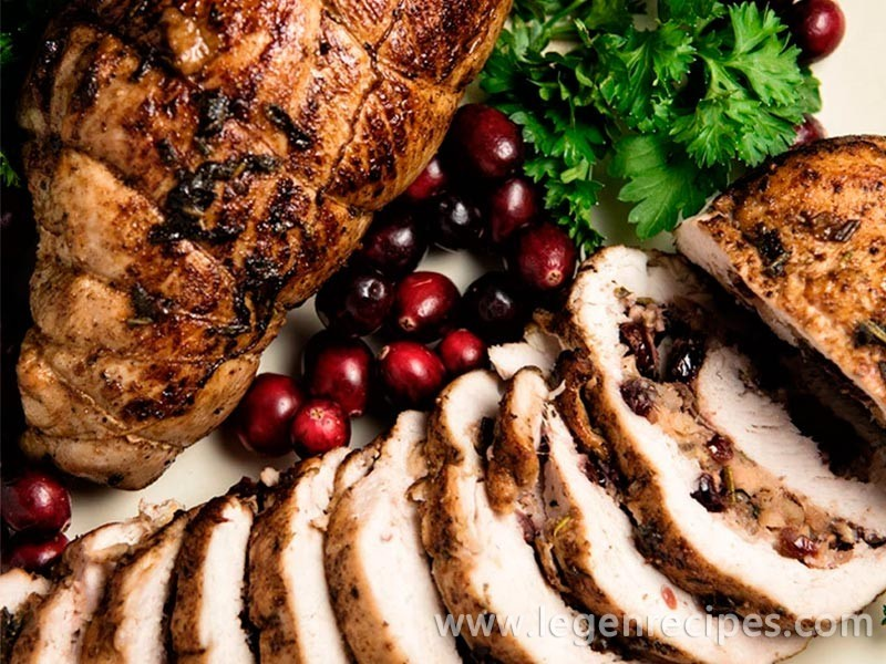 Cranberry And Apple Stuffed Turkey Breasts Recipe - Legendary Recipes