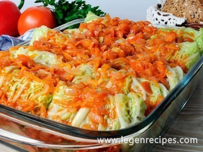 Lazy cabbage rolls
