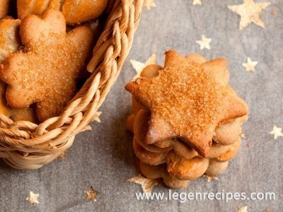 Sugar cookies: recipe without eggs