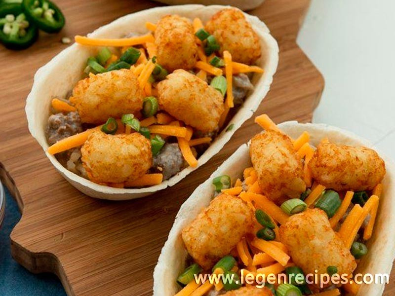 tater tot hot dish taco boats this midwest classic hot dish gets a ...