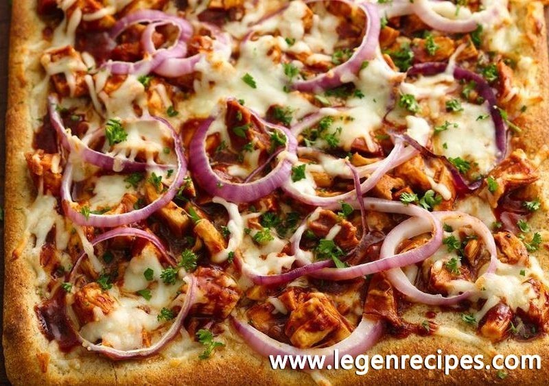bbq chicken pizza treat your family to this warm and delicious bbq ...