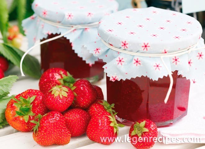 strawberry jam strawberry jam the recipe of which we offer you turns ...