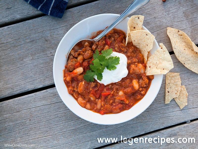 Pumpkin Turkey Chili - Legendary Recipes